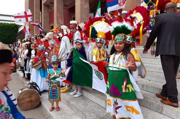 Oaxaca rumbo a Marruecos