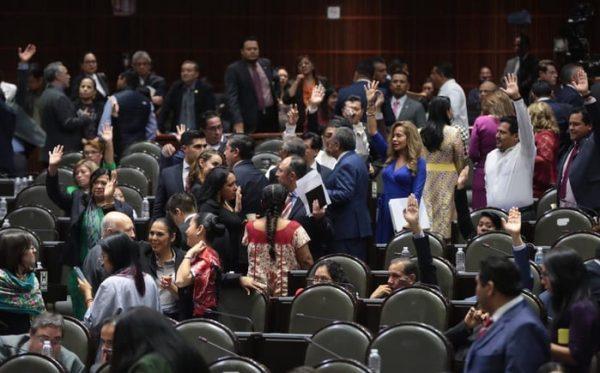 Diputados avalan en lo general la Ley de Extinción de Dominio