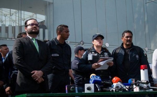 Policías federales rechazan opciones laborales del gobierno federal