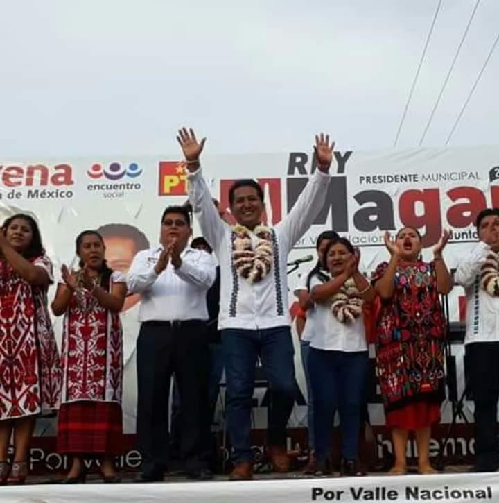 A un año del triunfo, Rey Magaña lidera la cuarta Transformación en Valle Nacional