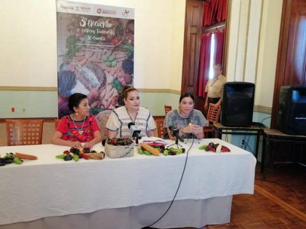 Lanza SECULTA convocatoria para el tercer encuentro de cocineras tradicionales de Oaxaca