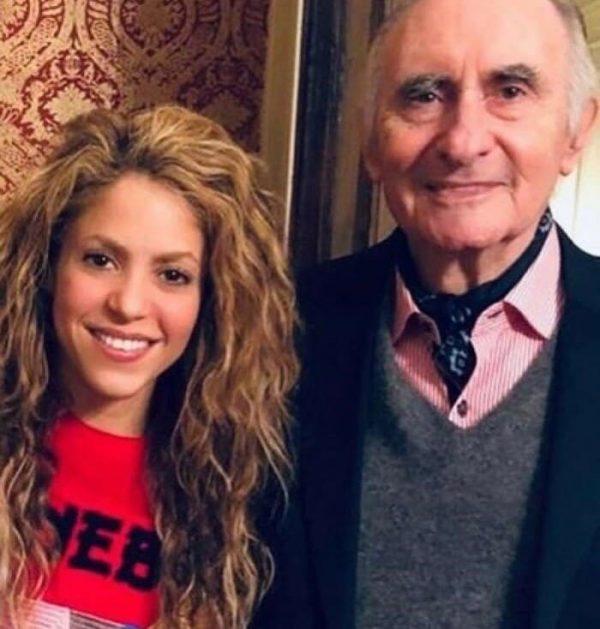 Shakira publica conmovedora despedida a su exsuegro, Fernando de la Rúa