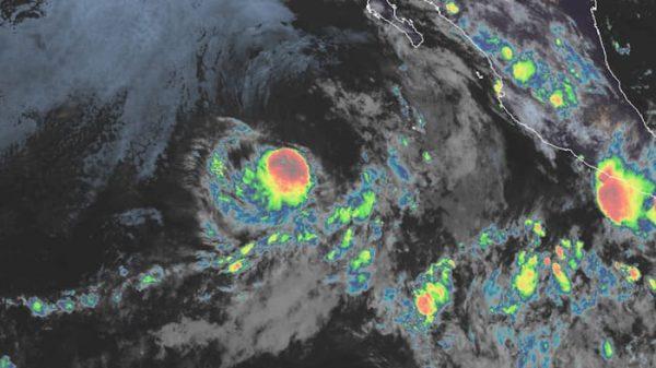Se forma Tormenta Tropical 'Dalila' en el Pacífico mexicano