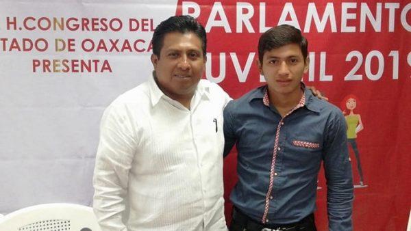 Elías Marqués Fernández representará a Valle Nacional en la próxima asamblea juvenil legislativa