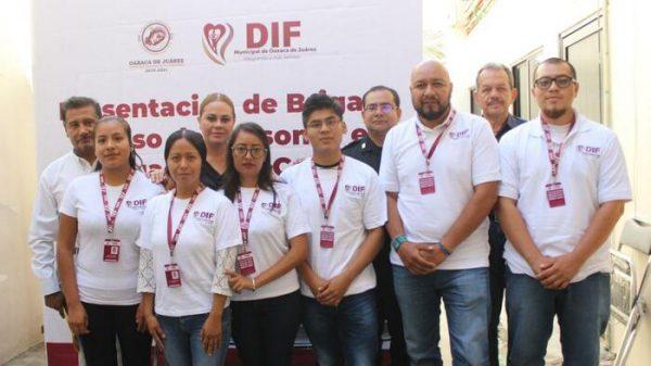 Presenta DIF Municipal de Oaxaca de Juárez brigada  de atención a personas en situación de calle