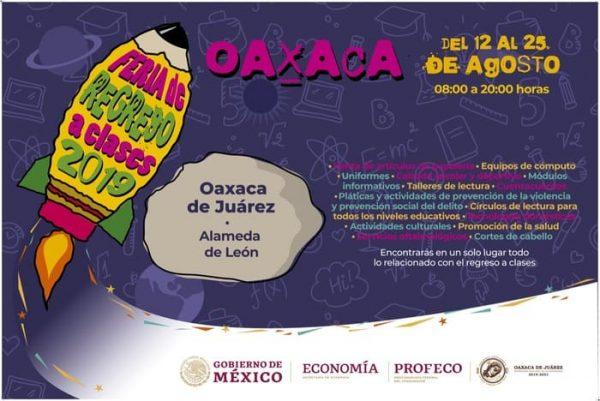 Ayuntamiento capitalino y PROFECO invitan a la Feria de Regreso a Clases 2019