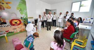 Agradece AMH respaldo de la Federación para mejorar el sistema de salud en Oaxaca