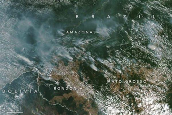 El Amazonas arde a una velocidad récord debido a la deforestación