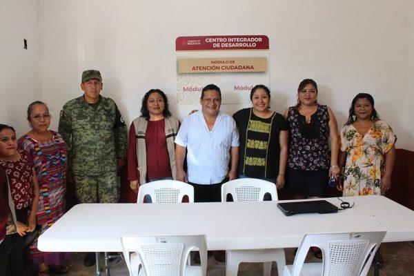 Se inauguró el Centro Integrador BIENESTAR en Chiltepec