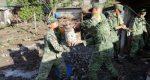 Deslave en Acultzingo Veracruz deja 40 viviendas dañadas