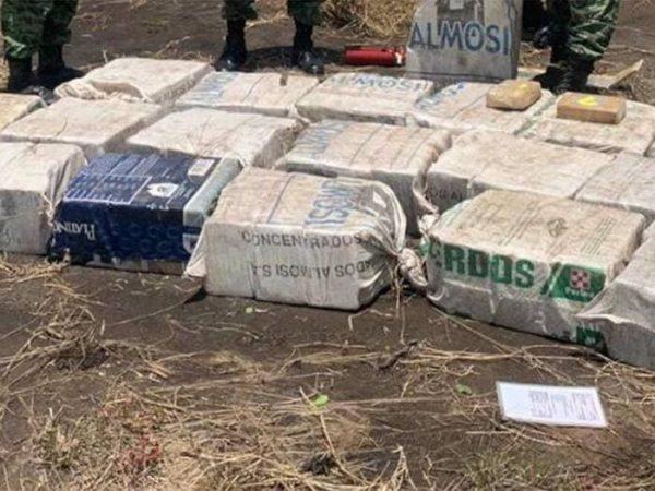 Aseguran cargamento con valor de 5.6 mdd en Chiapas
