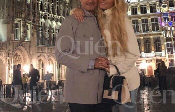 Enrique Peña y Tania Ruiz más enamorados que nunca en Bruselas