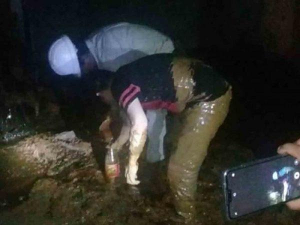 En Tabasco buscaban agua y ¡hallan petróleo!