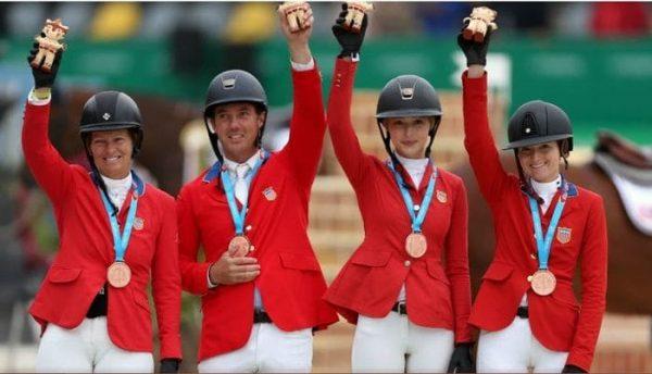 Hija de Steve Jobs gana bronce en equitación por equipos el Lima
