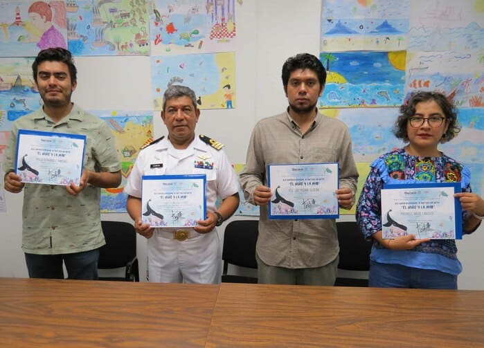 """Felicita IEEPO a estudiantes ganadoras del certamen """"El niño y la mar 2019"""""""