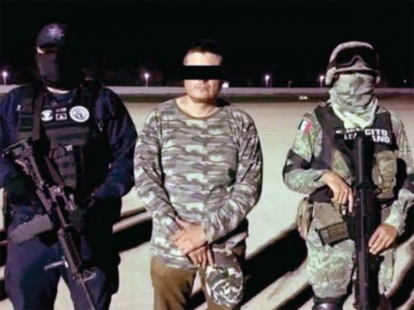 Secretaría de Seguridad confirma captura de 'El Carrete', presunto líder del grupo criminal 'Los Rojos'