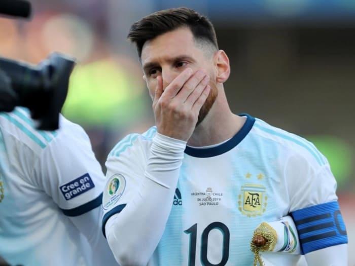 Conmebol impone dura sanción a Messi
