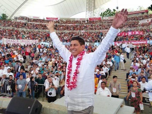 Salomón Jara muestra músculo y manda mensaje de que puede ser el candidato a la gobernatura