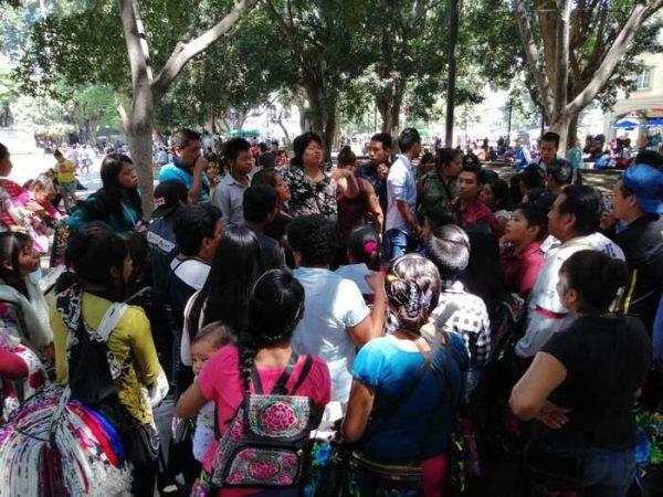 Ambulantes exigen reordenamiento en el centro histórico de Oaxaca