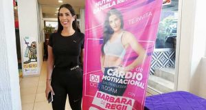 """La actriz Bárbara de Regil, impartirá clase de """"Cardio Motivacional"""" en Tuxtepec"""