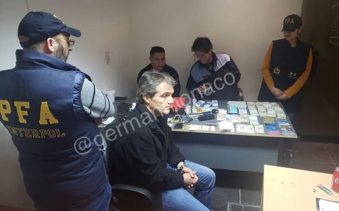 Carlos Ahumada es detenido en Argentina