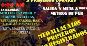 Este domingo, se realizará la Carrera Ciclista Tuxtepecana