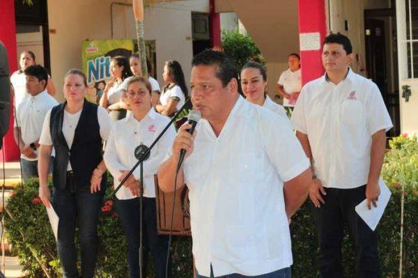 Inauguran ciclo escolar 2019 B, en el COBAO 54 de Chiltepec