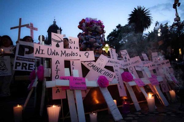 Suman mil 812 feminicidios en México en lo que va del año