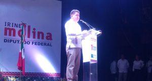 """""""Este es el momento de Oaxaca"""", Irineo Molina en su Primer Informe de Actividades"""