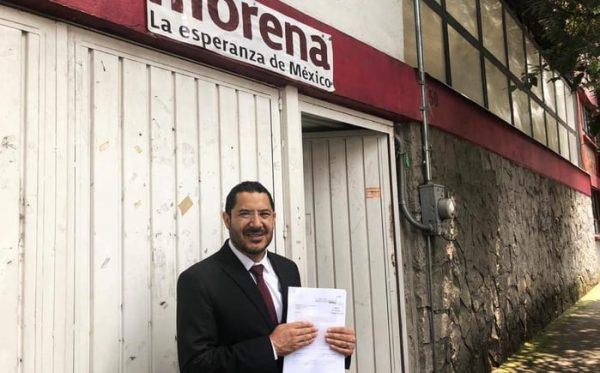 Martí Batres presenta queja contra elección de presidente del Senado