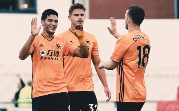Raúl Jiménez anota dos goles en triunfo del Wolverhampton