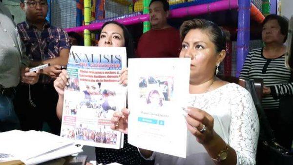 Dos regidoras de Amilpas siguen en contra de su edil, la acusan de autoatentado