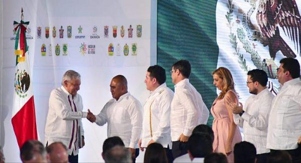 Firma del Pacto Oaxaca, reflejo del compromiso de AMLO con el estado: Dante Montaño