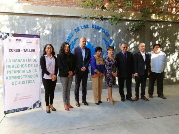 """Realiza DIF Oaxaca taller """"La garantía de derechos de la infancia y la adolescencia en la administración de justicia"""""""