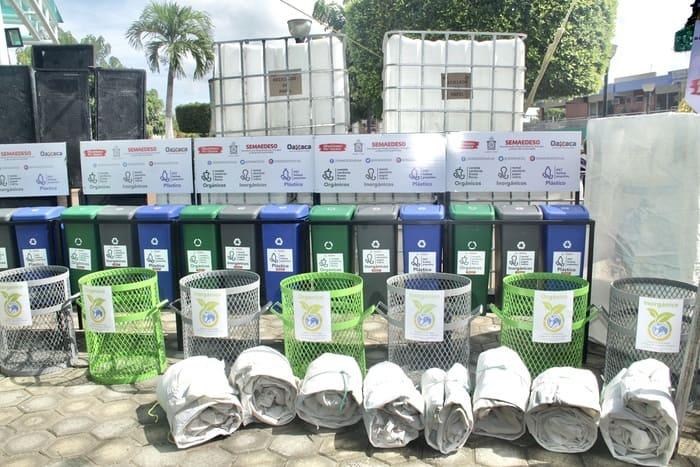 """Se suma Loma Bonita y Tuxtepec a la  Campaña Estatal """"Reciclemos por Oaxaca"""""""