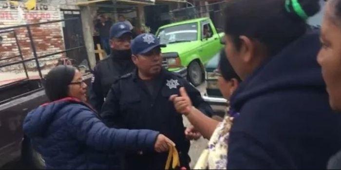 Desalojan a ambulantes en Nochixtán