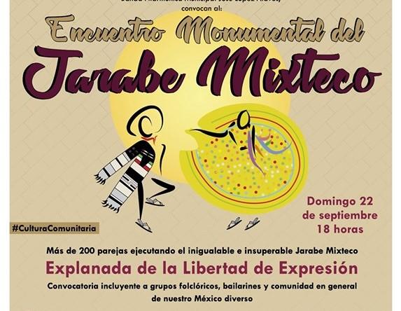 Tendrá Huajuapan de León Encuentro Monumental del Jarabe Mixteco
