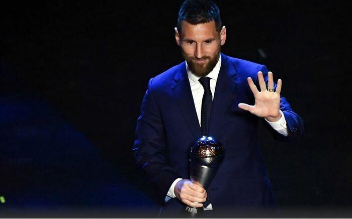 Lionel Messi gana el premio The Best al mejor jugador de la FIFA