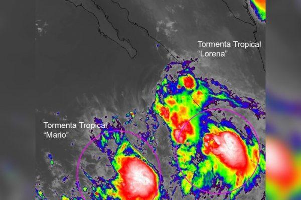 """""""Lorena"""" sigue su trayectoria rumbo a BCS; el pronóstico indica que será huracán"""