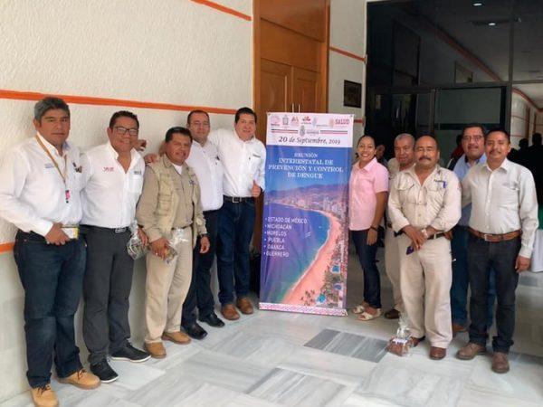 Realizan Primera Reunión Interestatal para Combatir el Dengue