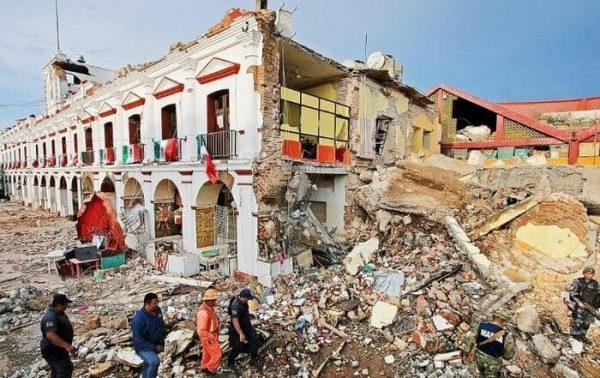 El sismo mas fuerte en la historia de México ocurrió en oaxaca