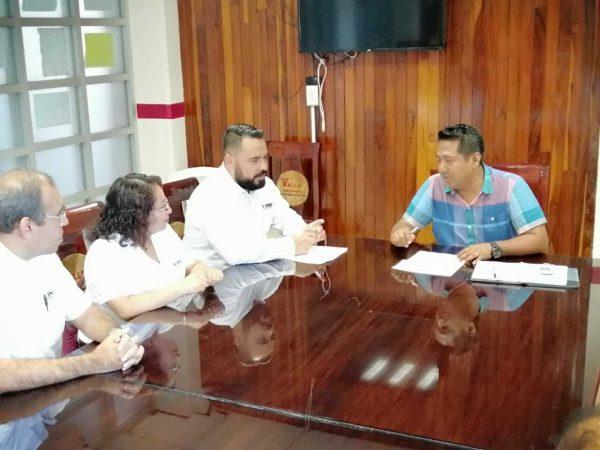 Logra INE acuerdos con Ayuntamiento de Valle para realizar actividades democráticas