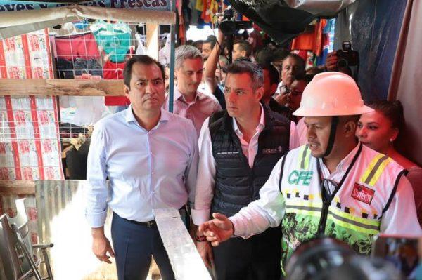 Reafirma gobernador Alejandro Murat compromiso de mejorar instalaciones y funcionamiento de la Central de Abasto