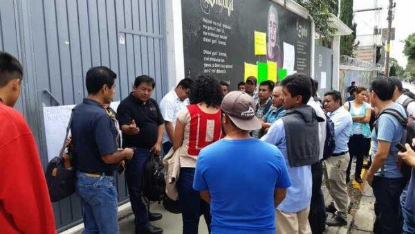 Habitantes de Yagila toman oficinas del INPI en Oaxaca