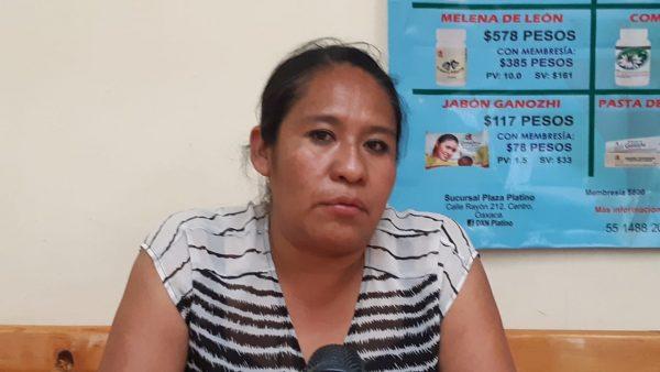 Ciudadana de Choapam exige elecciones para acabar con el cacicazgo en el municipio