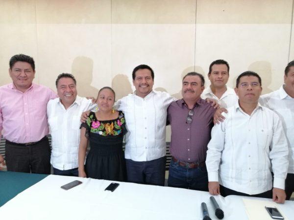 Diputados federales, destapan a Armando Contreras Castillo como dirigente de MORENA