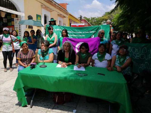 Sí a la legalización del aborto en Oaxaca, proponen feministas