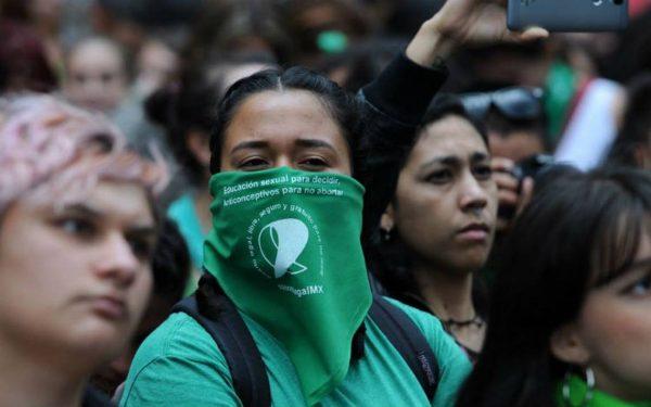 """Mujeres del movimiento """"Marea Verde"""" marcharán en Tuxtepec a favor de la legalización del aborto"""