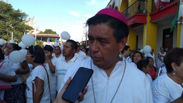 Llama Obispo de Tuxtepec, a sociedad a ser responsable en el tema de la inseguridad