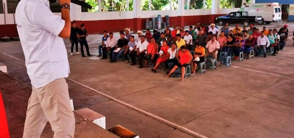 Sesul Bolaños realiza recorrido por la Cuenca; informó sobre la renovación de la dirigencia de MORENA